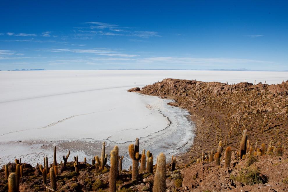 Соляная пустыня в Боливии