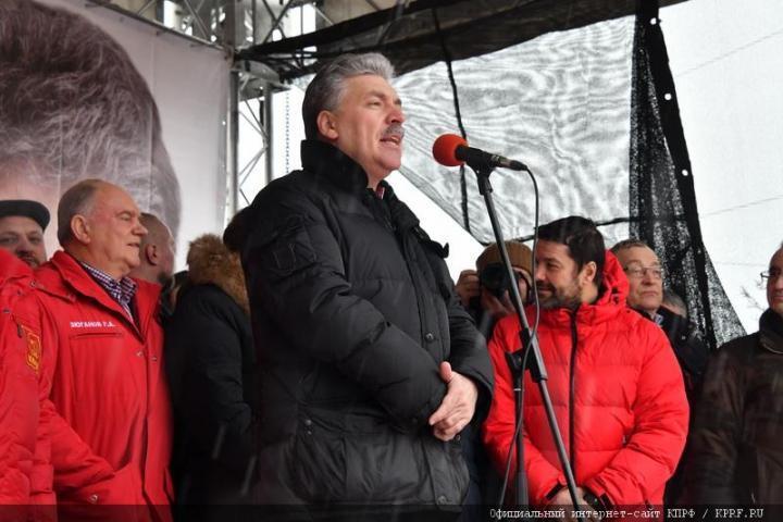 Грудинин потерпел фиаско: митинги КПРФ обезлюдели по всей стране