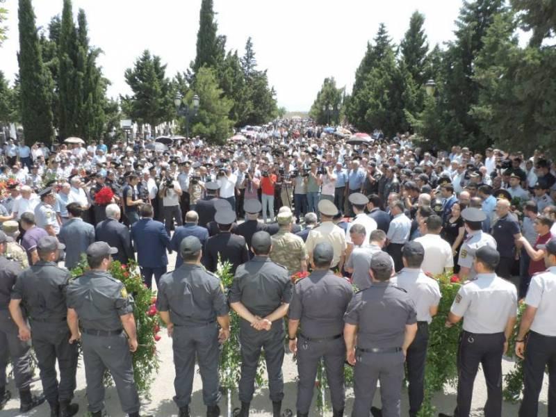 МВД Азербайджана: Беспорядки…