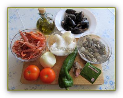 продукты для паэльи
