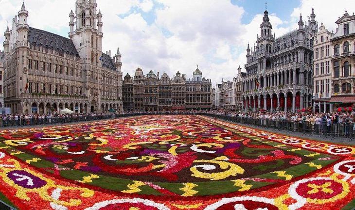 Блеск, шик и красота бельгийской столицы - Брюсселя
