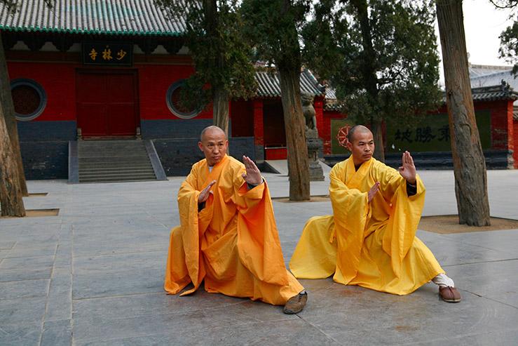 Монастырь Шаолинь на горе Суншань