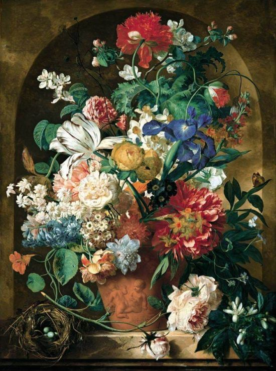 художник Ян ван Хёйсум (Jan Van Huysum) картины - 12