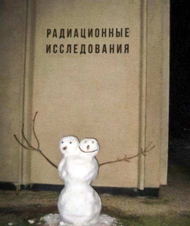 Снеговик от учёных
