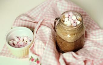 Какао с арахисовым маслом