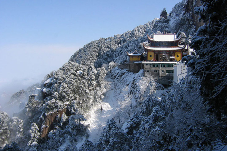 Цзюхуа-Шань (Цзюхуашань, Mount Jiuhua)