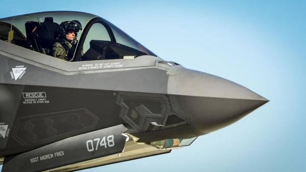 F – 35 «МОЛНИЯ», только медленная