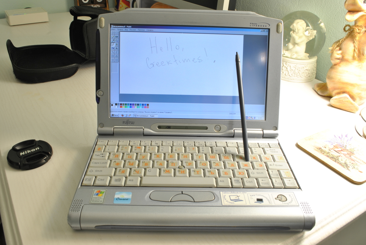 Ультрабук начала 2000-х – обзор Fujitsu LifeBook P-1032