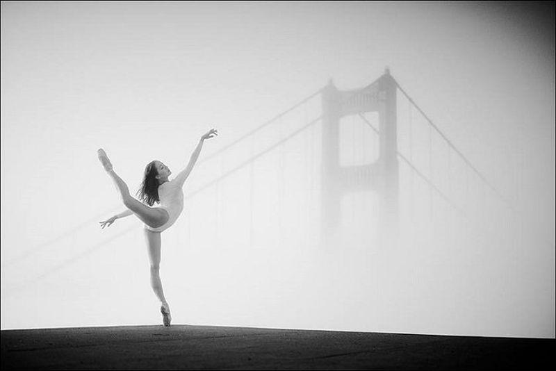 «Балерины на улицах города» — самый известный проект в интернете о балете