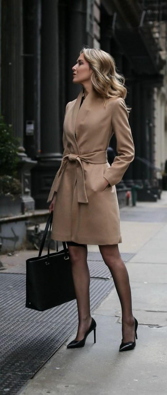 Женское приталенное пальто, непревзайденная красота