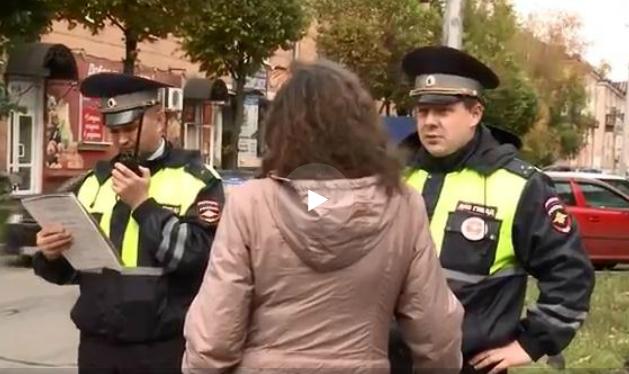 В Череповце штрафуют пешеходов, переходящих дорогу не по правилам