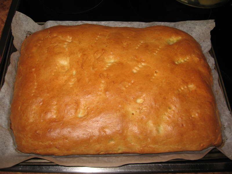 Рыбный пирог с пангасиусом