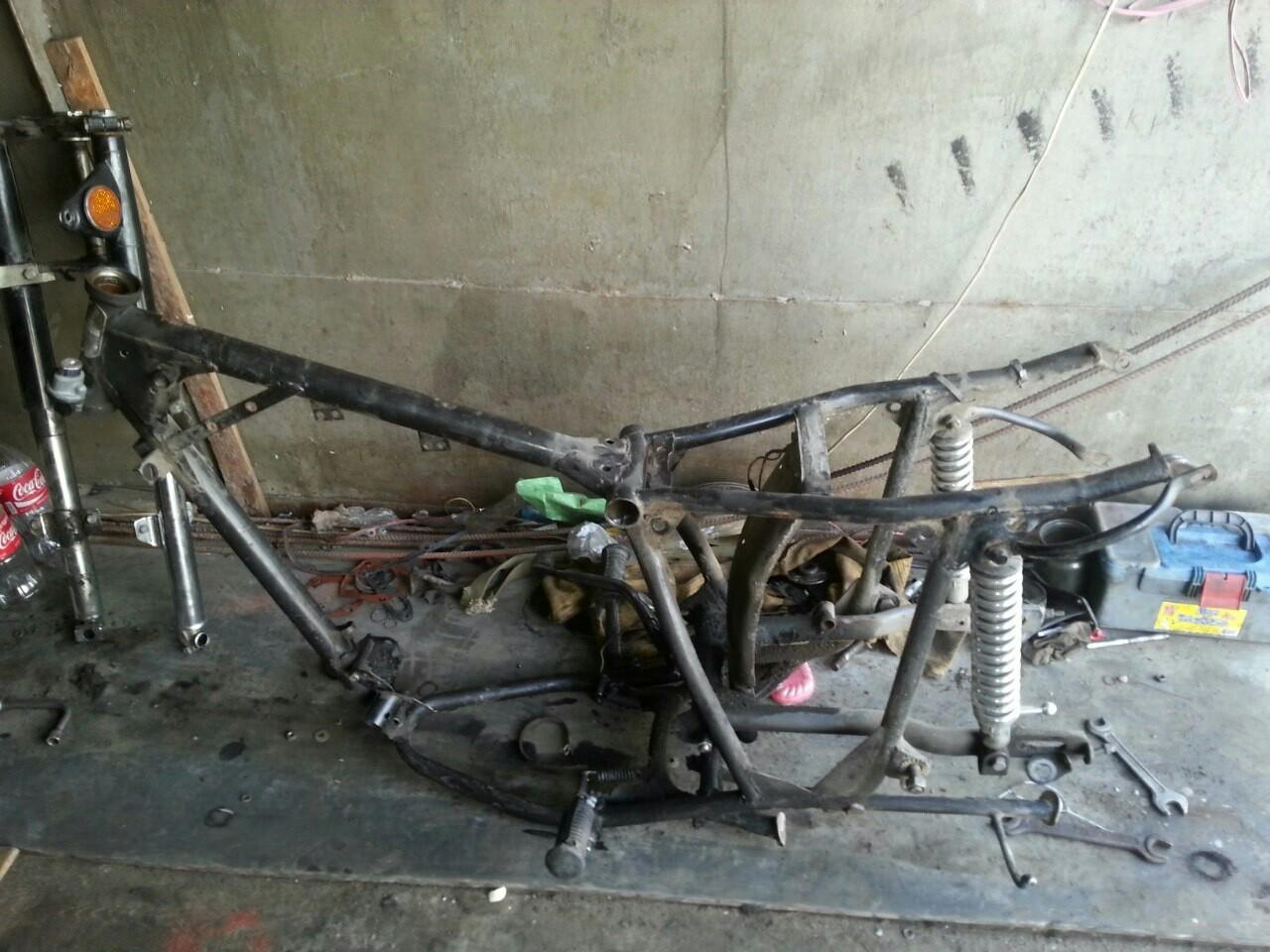 Вторая жизнь мотоцикла ИЖ Юпитер-5