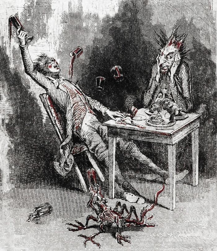 А. П. Чехов. «Беседа пьяного с трезвым чёртом»