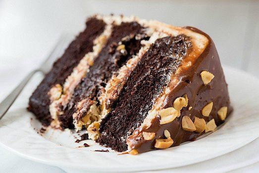 """Секреты приготовления торта """"Сникерс"""""""