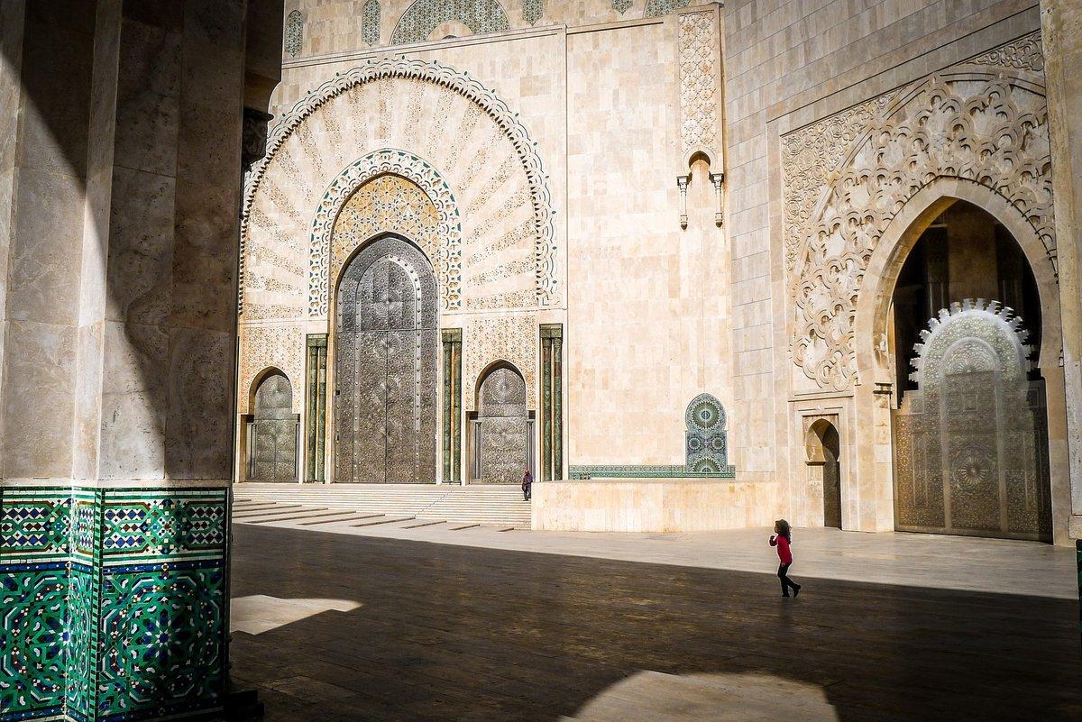 Мечеть Хасана II, город Касабланка, Марокко