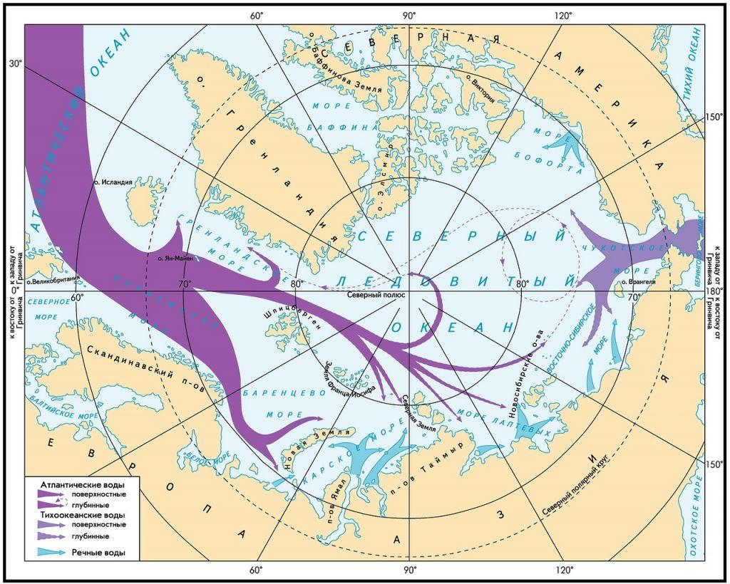 Полярный водоворот. Необъяснимые течения в Арктике