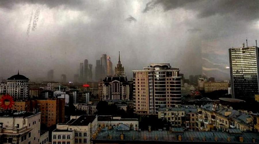 Как пережить ураган в городе