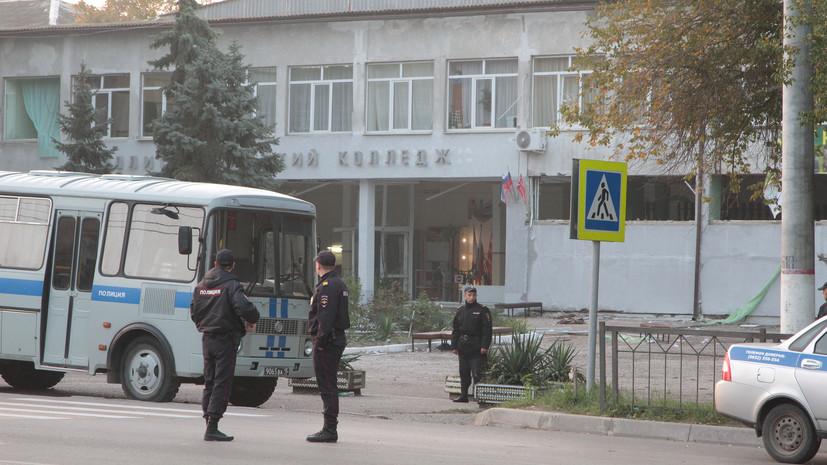 Источник: стрелок из Керчи мог изготовить бомбу из снаряда времён войны