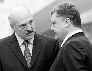 Лукашенко призвал Порошенко помнить о «зове предков»