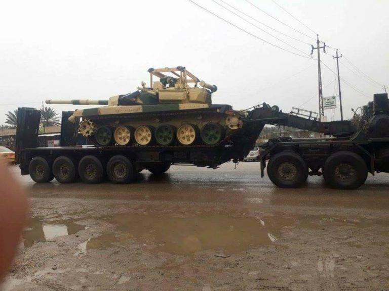 В Багдаде подтвердили получение танков Т-90С в рамках контракта с РФ