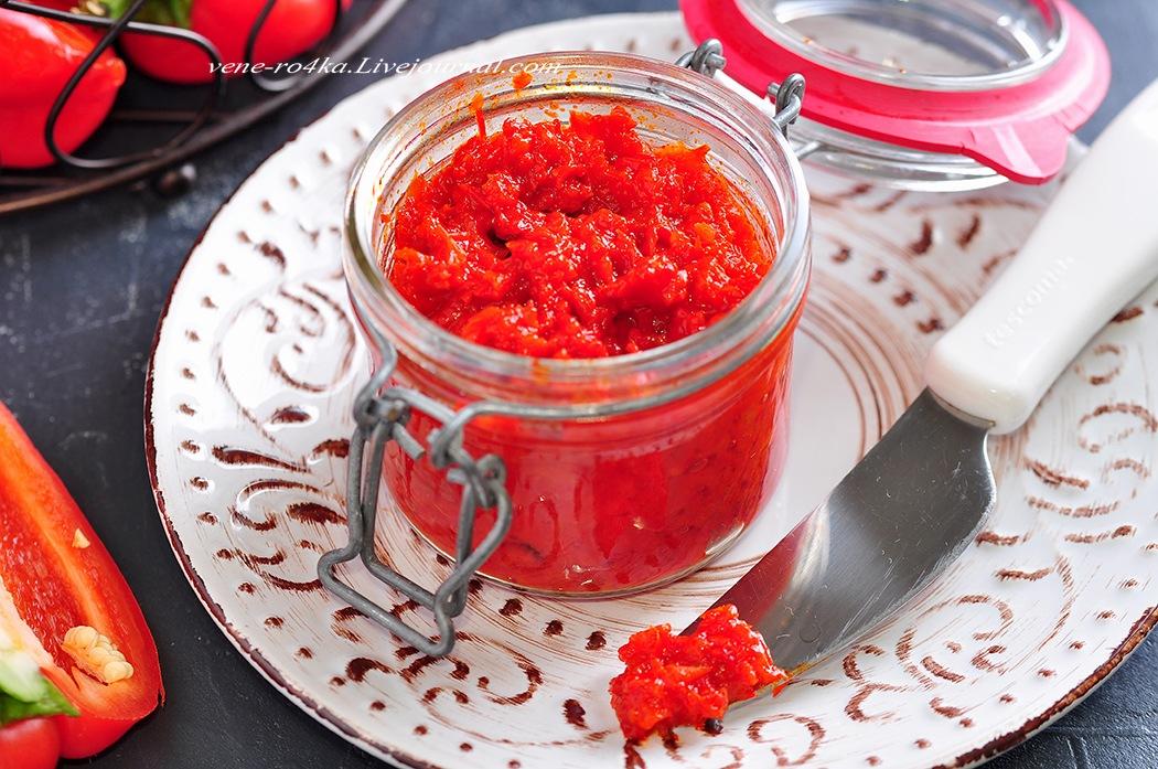 Турецкая кухня: Перечная паста (Biber salçası)