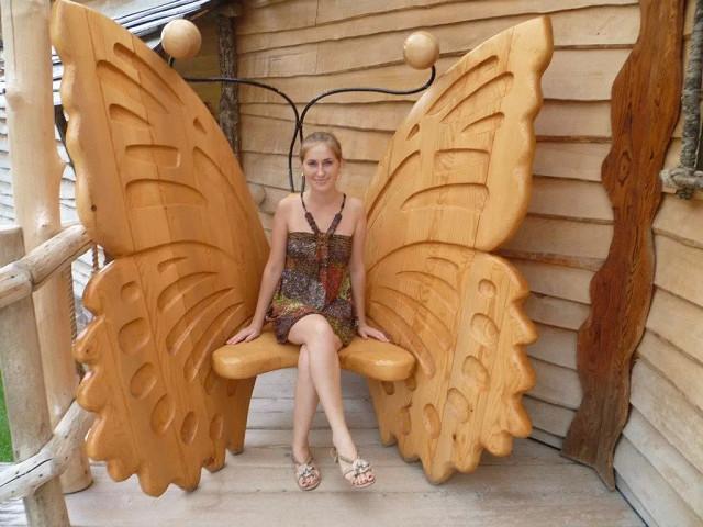 Креативная скамейка. Как вам? )))