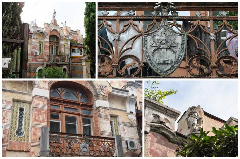 Дом архитектора Вегенера интересное, красота, факты, ялта