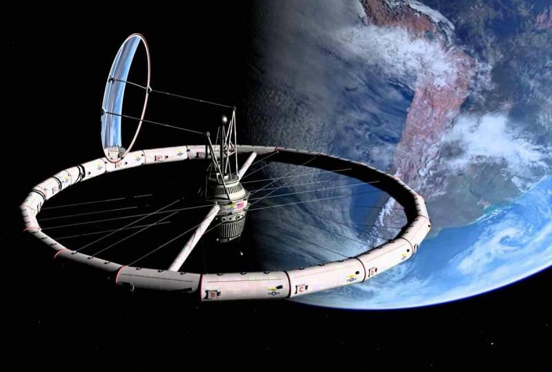 США планируют строительство орбитальной станции по идеям Циолковского