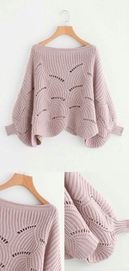 пуловер оверÑайз Ñпицами Ñхема