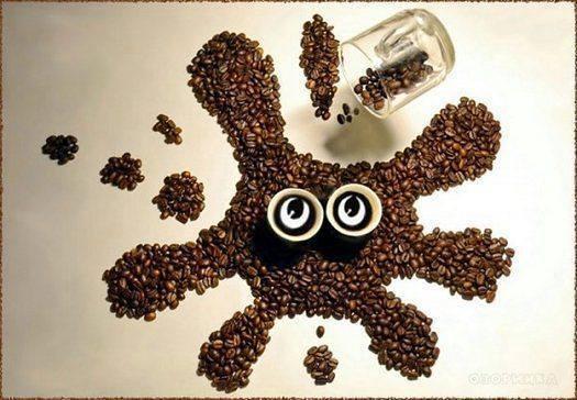 Поделки из кофейных зерен, от которых невозможно оторвать глаз. Идеи на 5 +