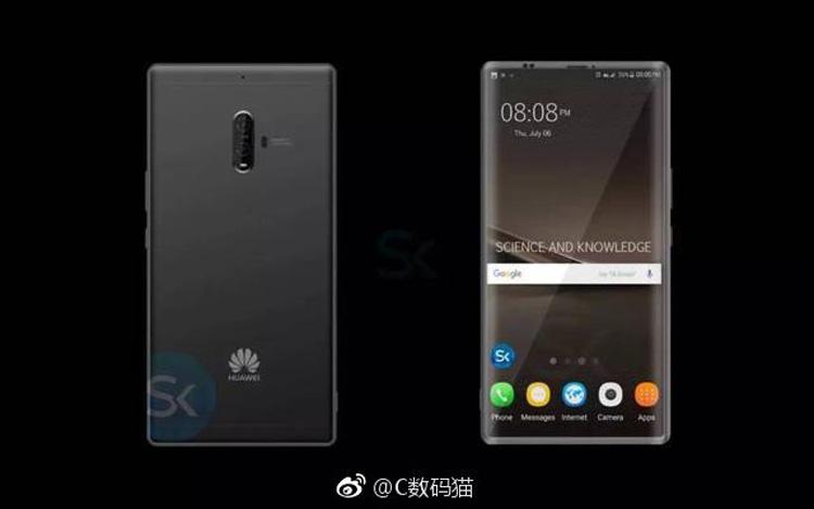 Huawei Mate 10 окажется дорогим планшетофоном стоимостью 1100 долларов