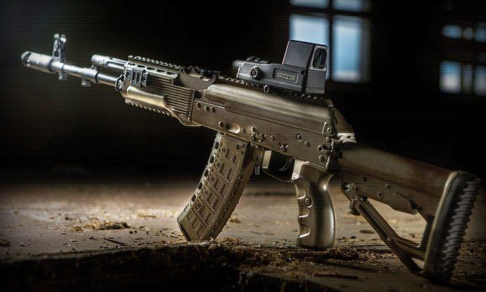 Видео-схема оружия: как устроен автомат АК-12