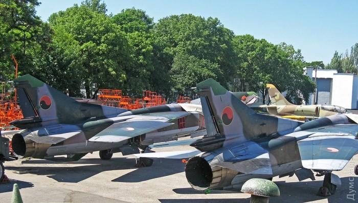 Курьезная история о подмене ангольского истребителя МиГ-23УБ на Одесском авиаремонтном заводе