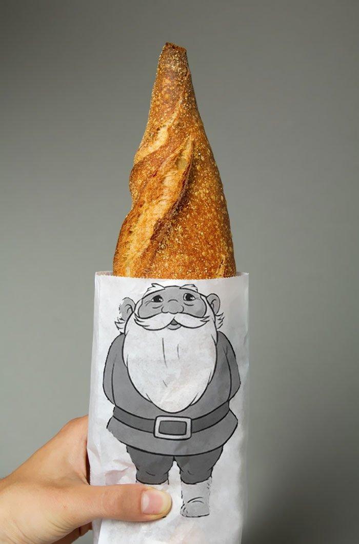 Упаковка для хлеба «Гном»