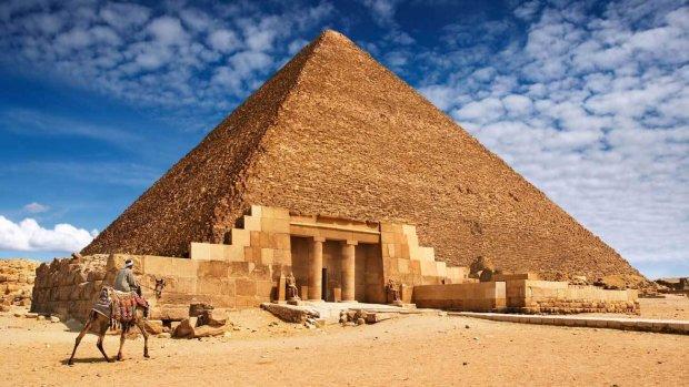 Новая загадка пирамиды Хеопс…