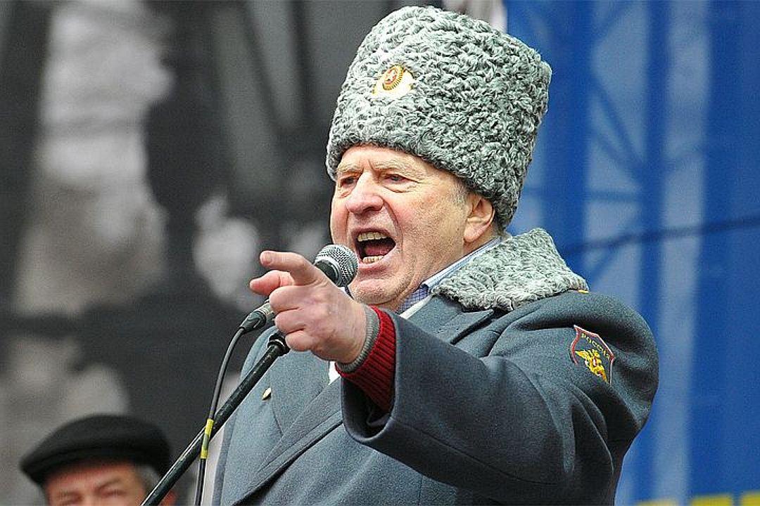 У Владимира Вольфовича практически крестовый поход против коммунистов Фото: Олег РУКАВИЦЫН