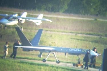 """На рязанском аэродроме Протасово замечен опытный образец беспилотного летательного аппарата """"Орион"""""""