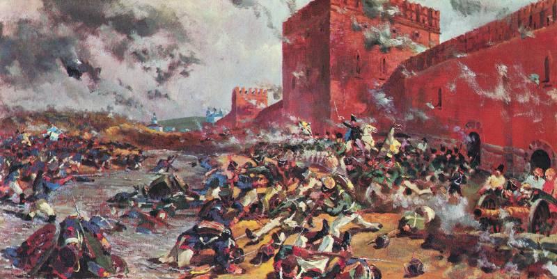 205 лет назад всеевропейская Великая армия Наполеона вторглась в пределы России