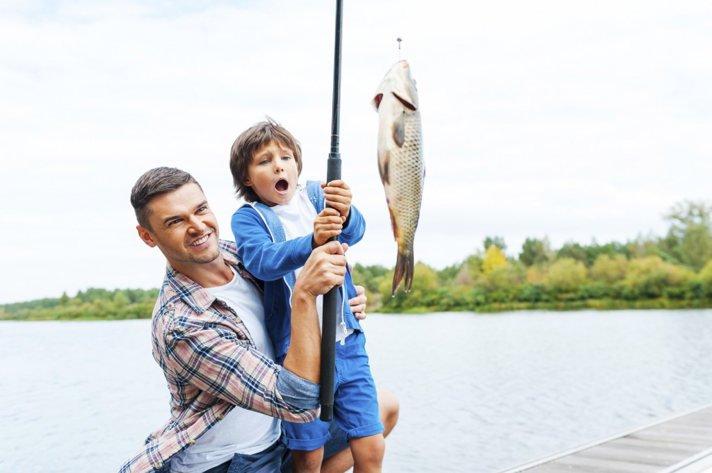 Моя первая рыбалка