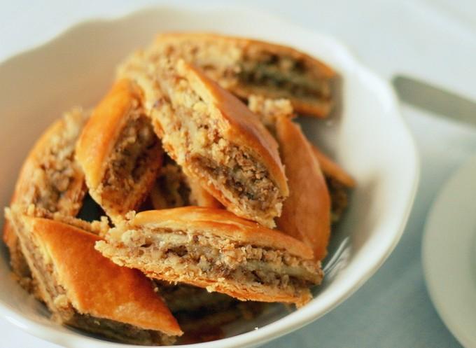 Печенье «Алла» с грецкими орехами