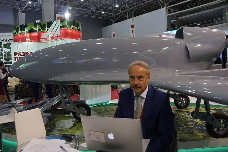 Беларусь представила БЛА «Камикадзе»