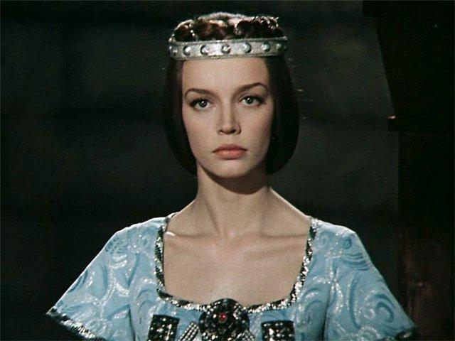 Наталья Трубникова в роли принцессы Мелисенты в фильме 31 июня (1978)