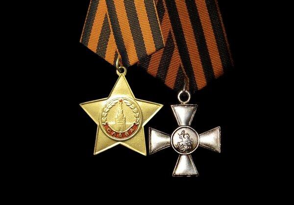 В 1944 году в СССР пытались официально узаконить Георгиевские кресты