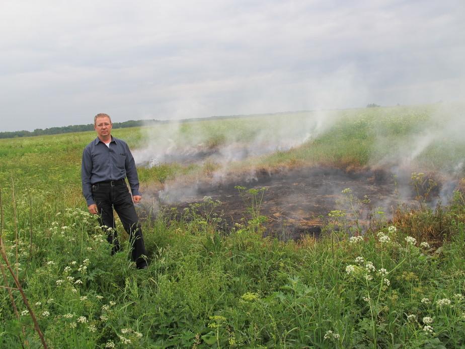 У нас тут на Урале НЛО приземлялись и оставили выжженые круги