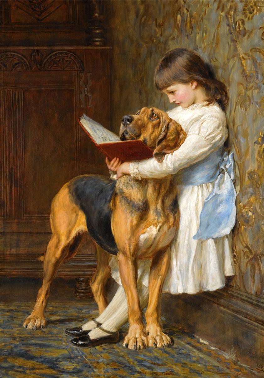 Английский художник Briton Riviere