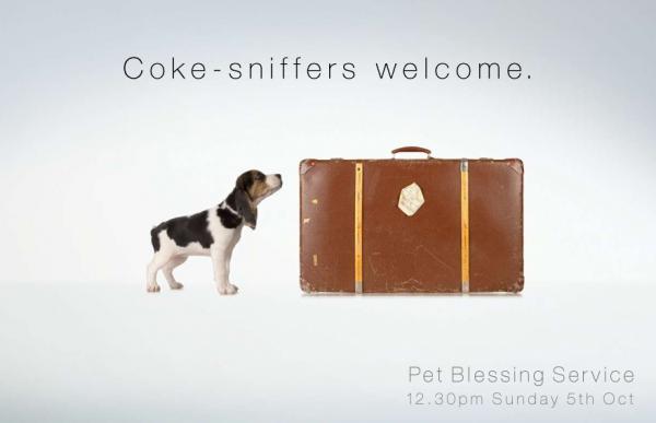 Pet Blessings: Coke-sniffers, M&c Saatchi, Печатная реклама