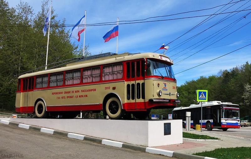 Крым получит новейшие российские горные троллейбусы и электробусы