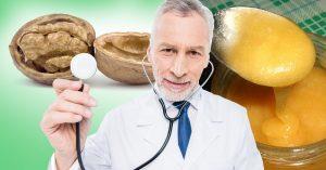 Грецкие орехи с медом — это средство, рекомендованное врачами