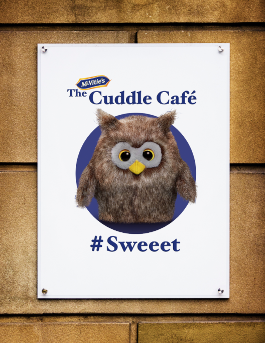 A pop up cuddle cafe is comi…